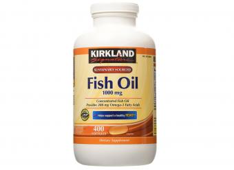 Kirkland Signature Fish Oil Concentrate with Omega-3
