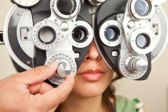 vision exam
