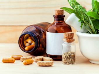 Supplement Pills On Table