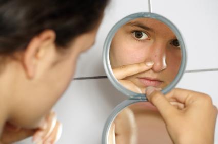 acne, vitamins