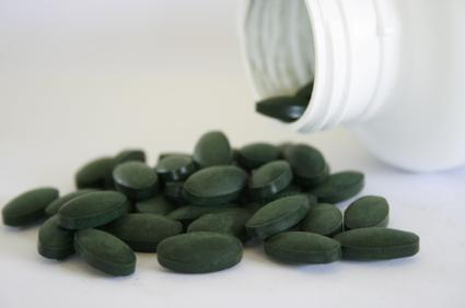 Spirulina may act as a chelating agent or a nutritional support.