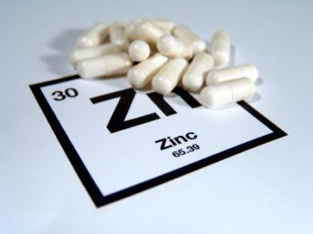 Zinc sulfate supplements.