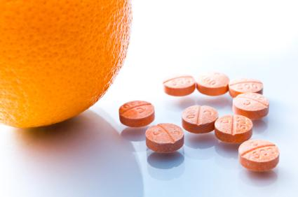 orange and pills