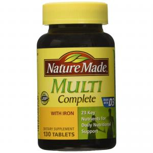 Nature Made Multi Complete with Iron