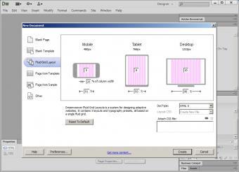 Dreamweaver CS6; Image used under media license