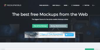 Screen shot of Mockupworld.co