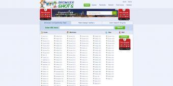 Screenshot of Browser Shots