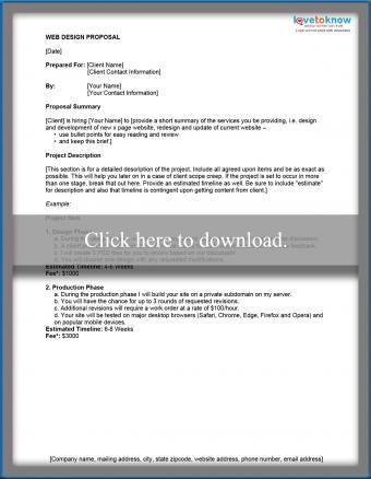 Simple Website Proposal