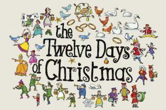 12 Days of Christmas Graphics