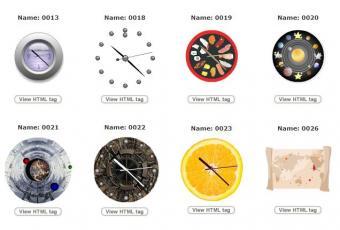 Free Clock Widgets