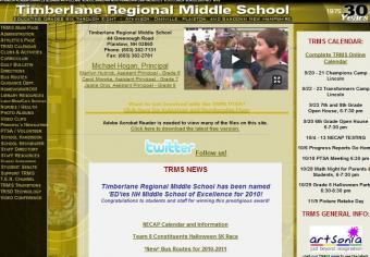 List of Middle School Websites
