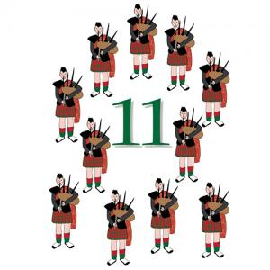 11 pipers piping images 12 days of christmas graphics lovetoknow 4786