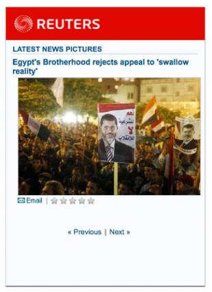 Reuters Top News Pictures widget