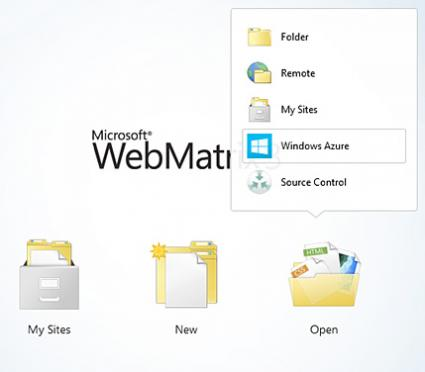 Microsoft WebMatrix 3 Editor for the Cloud