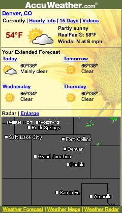 AccuWeather.com widget