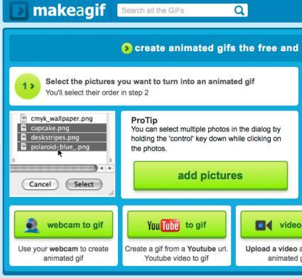 MakeaGif gif creator