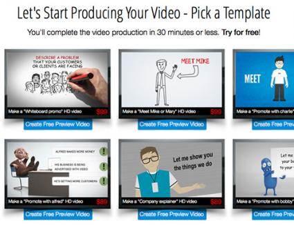 MakeWebVideo templates