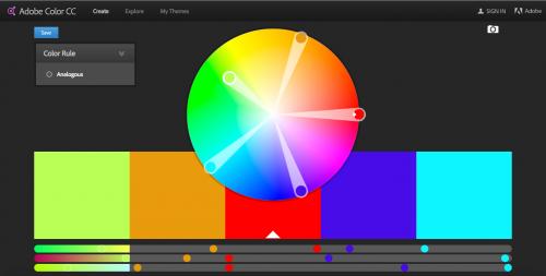 Screen shot of Color Adobe