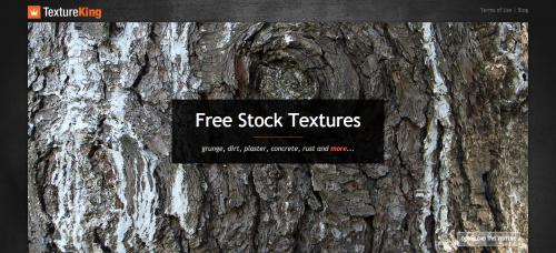 Screen shot of TextureKing.com
