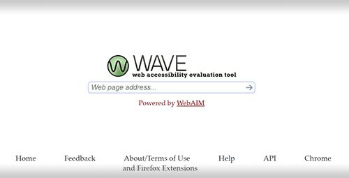 Screen shot of WAVE