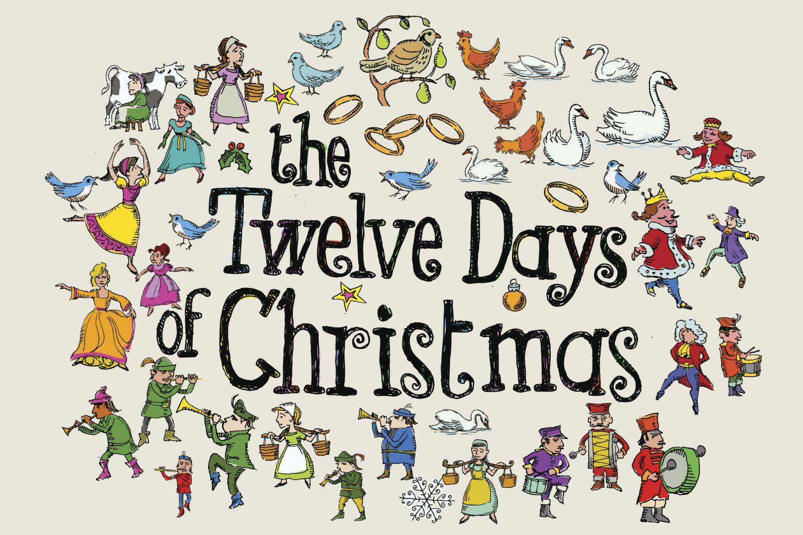 The Twelve Days of Christmas Greeting