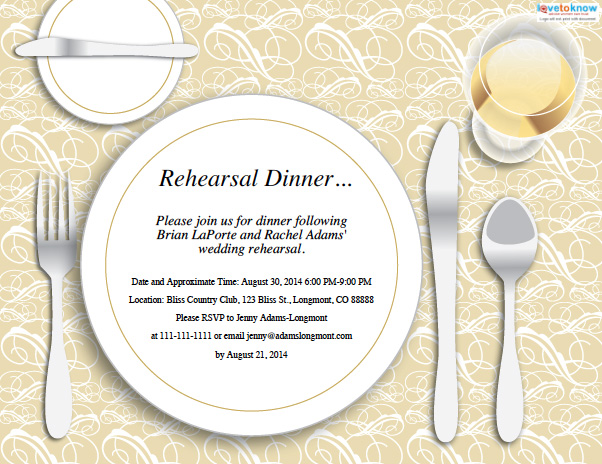 This is a photo of Free Printable Rehearsal Dinner Invitations inside personalized campout invitation
