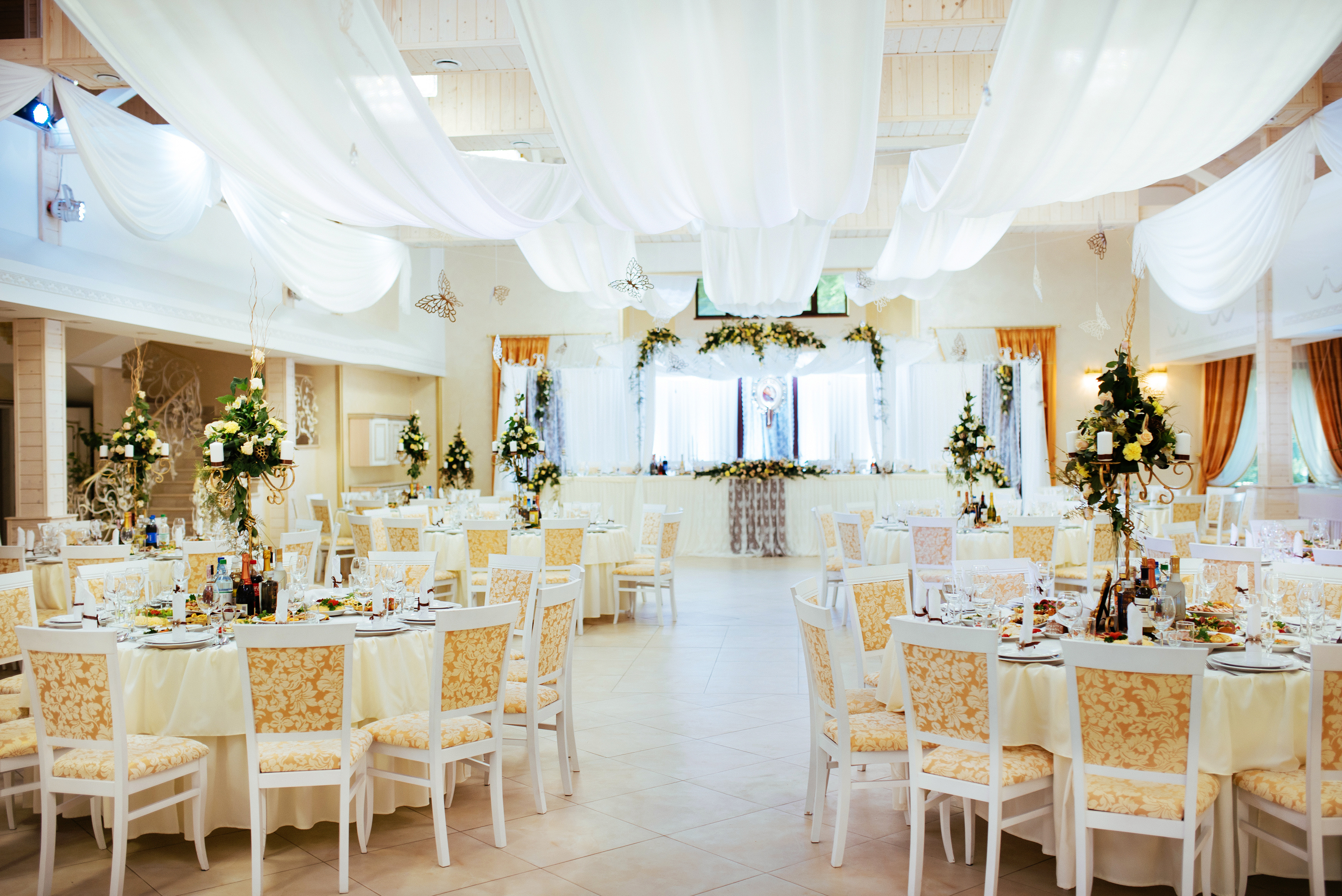 Table Layout of a Wedding Reception | LoveToKnow