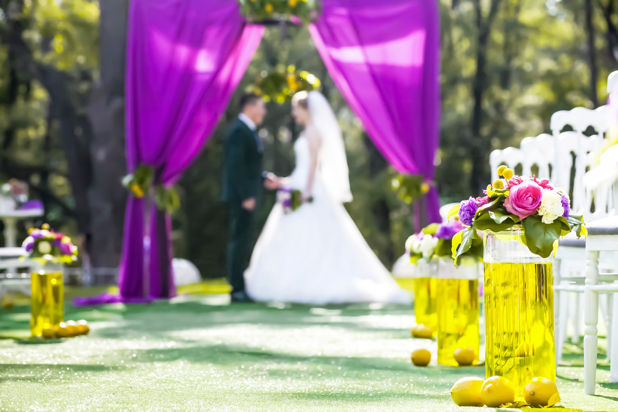 Purple and Yellow Weddings | LoveToKnow