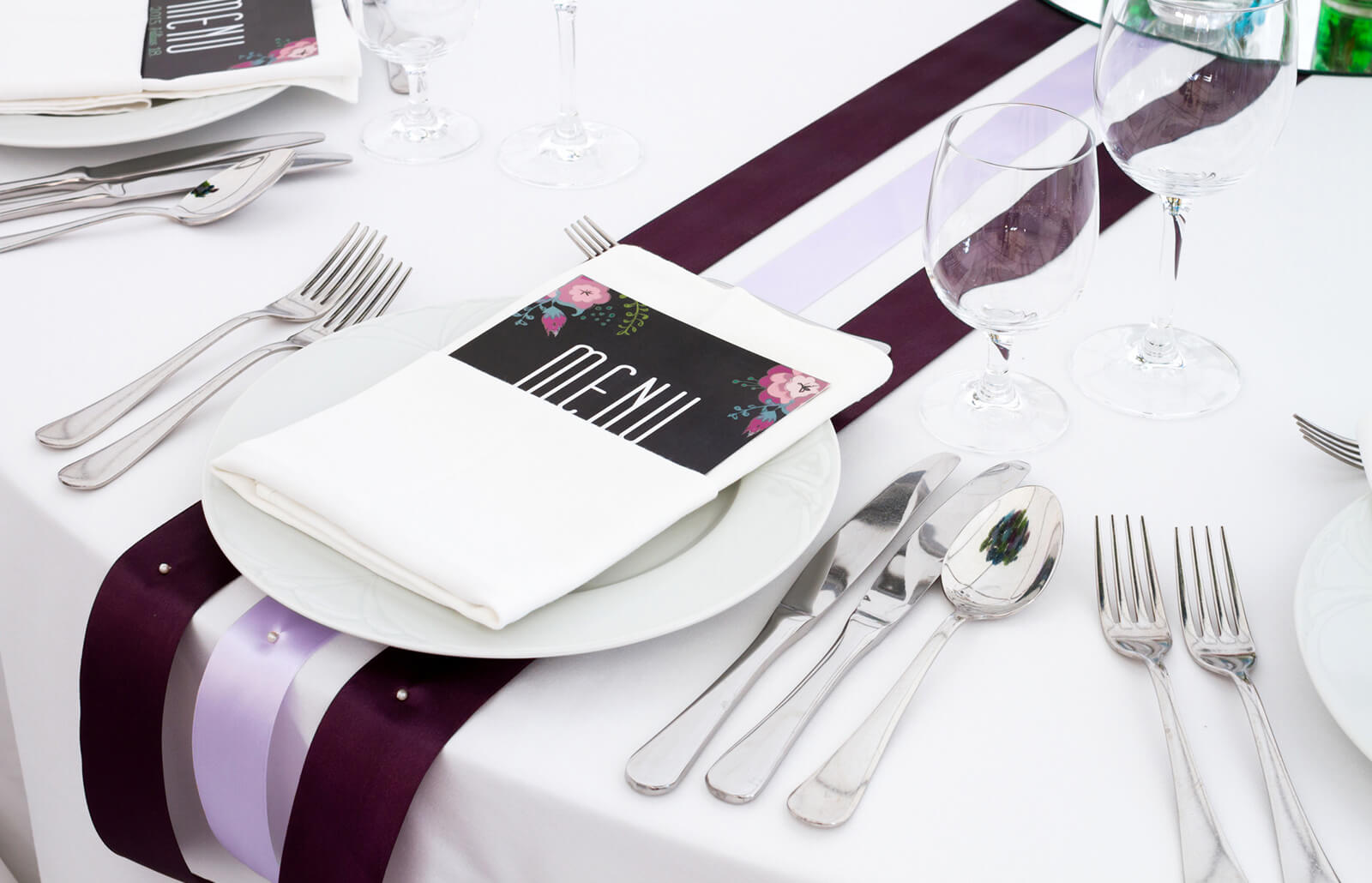Free Printable Wedding Menu Templates Lovetoknow