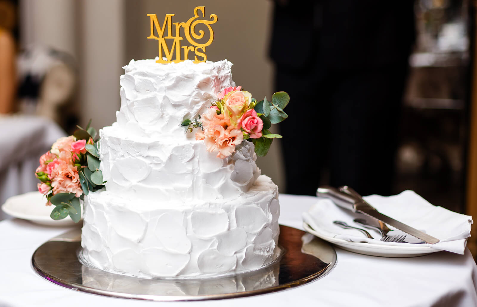 Images of Three,Tier Wedding Cakes