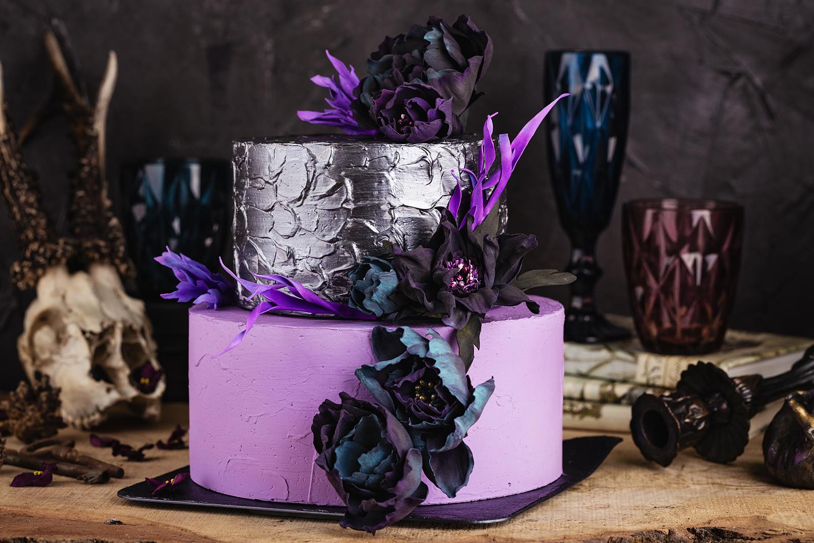 Gothic Wedding Cakes Lovetoknow