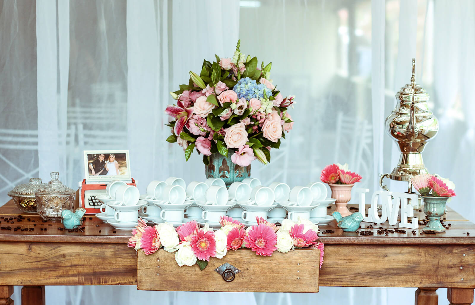 Coffee Bar Ideas for the Wedding Reception | LoveToKnow