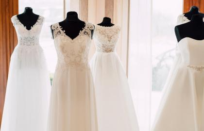 Wedding dresses salon