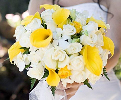 Pictures Of Calla Lily Bridal Bouquets