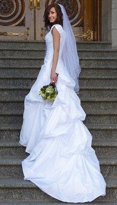 Pictures Of LDS Wedding Dresses LoveToKnow - Lds Wedding Dress