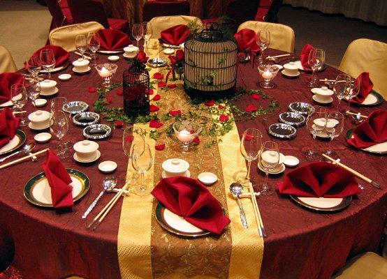 falltable7.jpg & Table Setting for a Fall Wedding | LoveToKnow