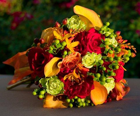 Fall Flower Arrangements For Weddings