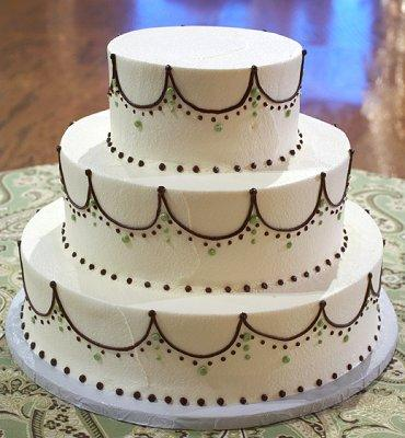 simple piping designs for wedding cakes pictures of black and white wedding cakes slideshow 20004