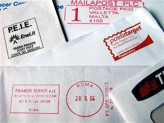 Image of a collection of envelopes