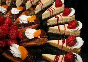 Image of a wedding dessert bar