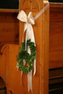 ribbon with wreaths