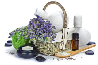 lavender relaxation basket