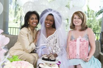 Mother of the bride attending bridal shower
