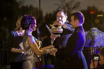 Vase wedding ceremony