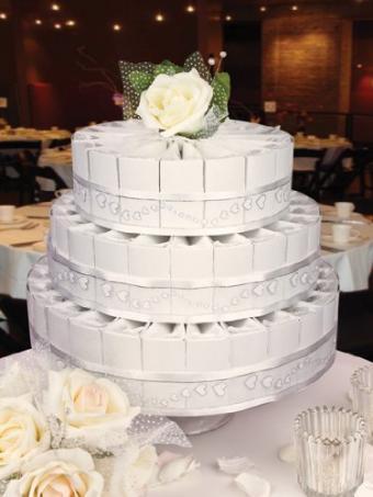 3-Tier Wedding Favor Cake Kit