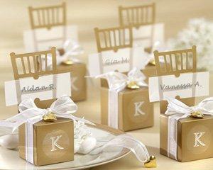 Miniature Wedding Chair Favor Boxes