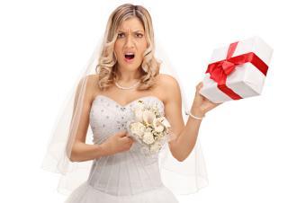 Displeasing wedding present