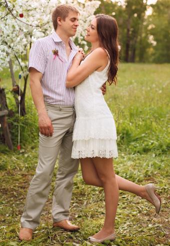Informal Short and Long White Wedding Dresses