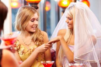 Bride's pride