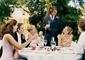 Sample Wedding Day Toasts to Make It Memorable